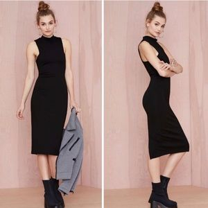 Nasty Gal Mock Off Midi Dress